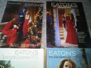 Eaton's Catalogues 1974-1975 (Spring, Summer, Christmas, etc) Stratford Kitchener Area image 2