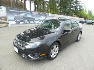 2010 Ford Fusion Sport V6, AWD, Leather, Sunroof