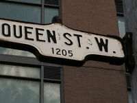 Queen and Dufferin Spacious 1+1 condo for rent in new building