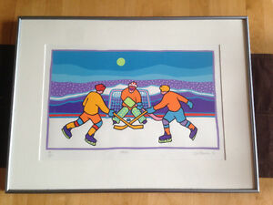 TED HARRISON SERIGRAPH