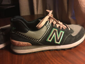New balance NB 574 Black and pink Shoes