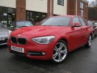 2013 13 BMW 1 SERIES 2.0 118D SPORT 5D,FULL BLACK HEATED LEATHER,MUST SEE!!!