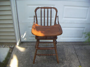 Jenny Lind high chair replica - vintage