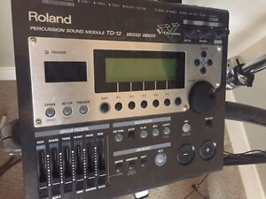Roland TD12 Electronic Drums Complete Strathcona County Edmonton Area image 2