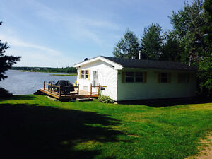 COTTAGE FOR RENT - SPECTACULAR VIEW - WATERFRONT - SHEDIAC RIVER