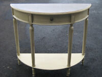 BELLE TABLE CONSOLLE 1 TIROIR STYLE ANTIQUE