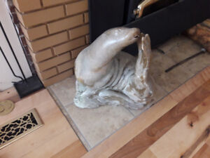 Soapstone Carving - Seal