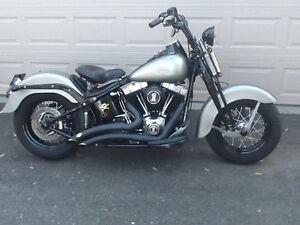 Rare 2009 Harley Davidson Crossbones Springer for sale
