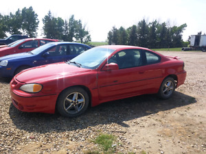 2000 grand am gt for parts