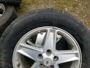 2 Firestone All Seasons and 2 X-Treme Winter Tires