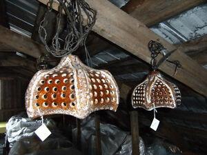 Ensemble de lampes en céramique