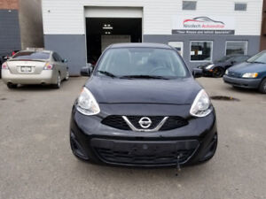 2016 Nissan Micra S, Automatic with low kilometers! REDUCED