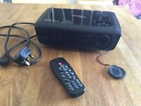 Optoma DW318 Black Home Cinema Projector/ Carry Case.