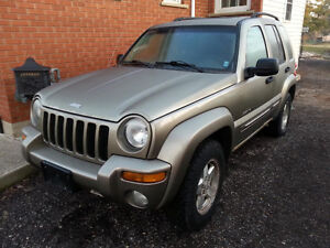 MUST SELL- 2003 JEEP LIBERTY LIMITED - $1000