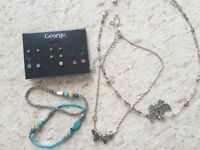 Jewelry necklaces earrings bracelets cheap moving