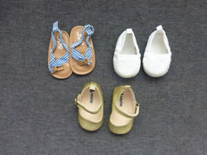 Baby Girl Shoes size 2/3-6 months