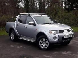 Mitsubishi L200 2.5 DI-D Warrior Double Cab Pickup 4WD 4dr DIESEL MANUAL 2009/09