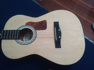 FirstAct small size acoustic guitar with case