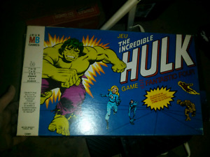 The incredible Hulk Game with the fantastic four