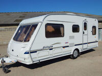 Sterling EUROPA 495, 2004, 4 Berth, Fixed Bed, Air Conditioning, Motor Movers!