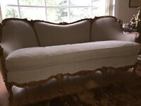 Gorgeous Early Majestic Parlour Sofa with Clean Upholstry