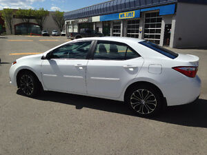 2014 Toyota Corolla Sport with Upgrade Package