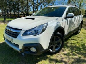 2014 Subaru Outback MY14 2.0D Premium AWD White Continuous Variable Wagon Richmond Hawkesbury Area Preview