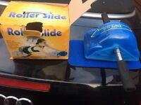Roller slide exerciser