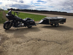 2010 Time-out motorcycle trailer