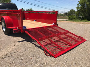 SPRING  SPECIAL ON OUR 5 X 10 EXECUTIVE SERIES UTILITY TRAILER