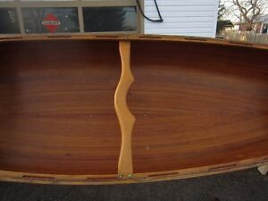 16' RIBLESS CEDAR STRIP CANOE BY TED MOORE PETERBOROUGH Peterborough Peterborough Area image 5