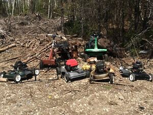 Parts lawn mowers And snow blowers
