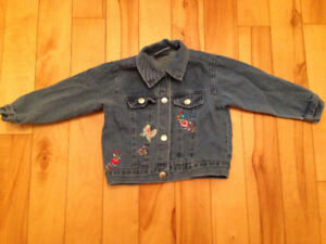Jean Denim Jacket - baby girl - size 24 months