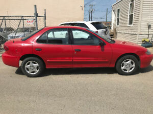 2004 CHEVROLET CAVALIER JUST HAS 131486 KMS NEW LIKE TIRES!