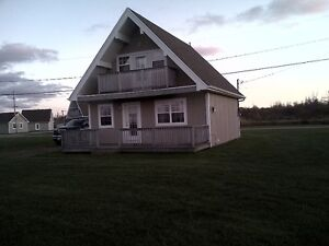 3 Bedroom Chalet , Aboiteau Beach , Sandy Beach, Near Shediac,