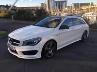 2016 MERCEDES CLA CLA250 4MATIC ENGINEERED BY AMG ESTATE PETROL