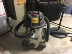 Stainless steel 10 gallon shop vac ultra