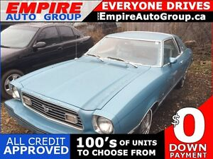 1977 FORD MUSTANG 11 * RWD * LEATHER