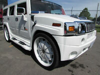 2004 HUMMER H2  FOR SALE! CUSTOM HUMMER 28 INCH RIMS BODY KIT!!!