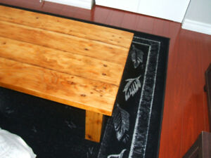Coffee Table _Reclaimed Wood_ $85.
