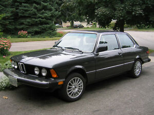 Classic BMW 320i for sale to collector or appreciative owner