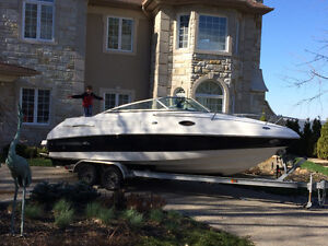 Chapparal 2008 251 SSI-CC-260 hrs-Perfect Pass+Trim Tabs+GPS