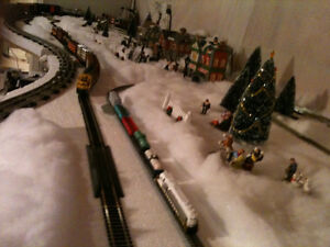 N, HO, O scale Toy train lay out table Kitchener / Waterloo Kitchener Area image 3