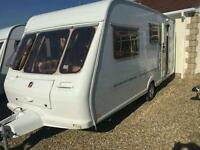 Fleetwood moonlight sonata 500eb 2003 4 berth touring caravan