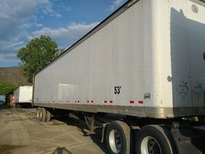 Dry Van 53 ftTrailers for Sell, Wabash, Great Danes, Stoughton