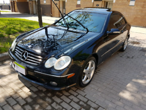 2004 BLACK MERCEDES BENZ CLK FOR SALE