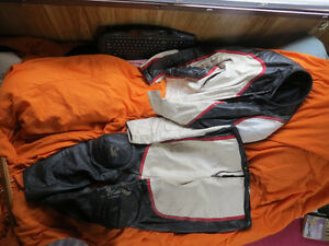 Vintage Canadian made racing leathers sale/trade