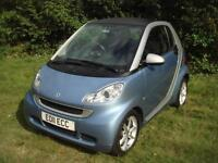 Smart fortwo 1.0mhd ( 71bhp ) Softouch 2011MY Pulse ONLY 25K, IMMACULATE, F.S.H