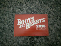 Boots and Hearts Tickets $300/ticket