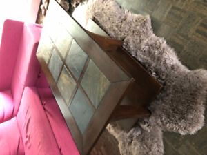 Coffee table with matching side table Burlington